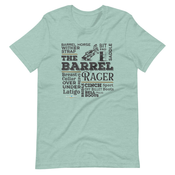 Let's Rodeo {Barrel Racer} tee