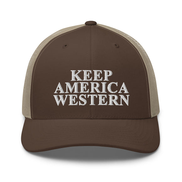 Keep America Western™️ Trucker Hat