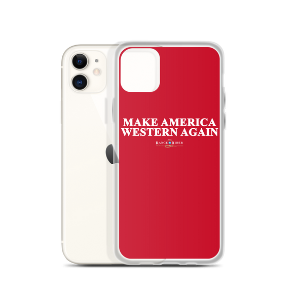 Make America Western Again™️ iPhone Case