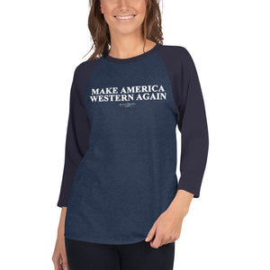 Make America Western Again™️ Baseball Tee