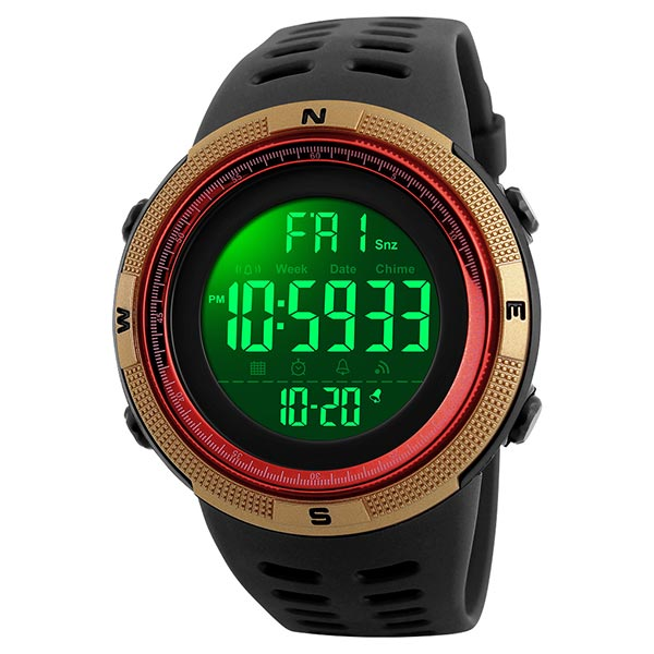 SKMEI 1251 Mens Digital Sports Watch