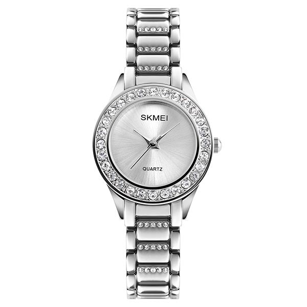 SKMEI 1262 Womens Stainless Steel Watch