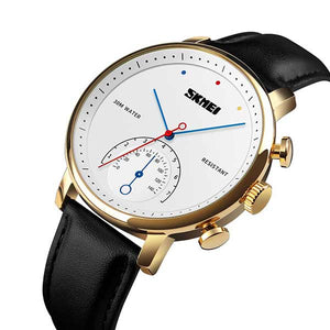 SKMEI 1399 Mens Leather Watch