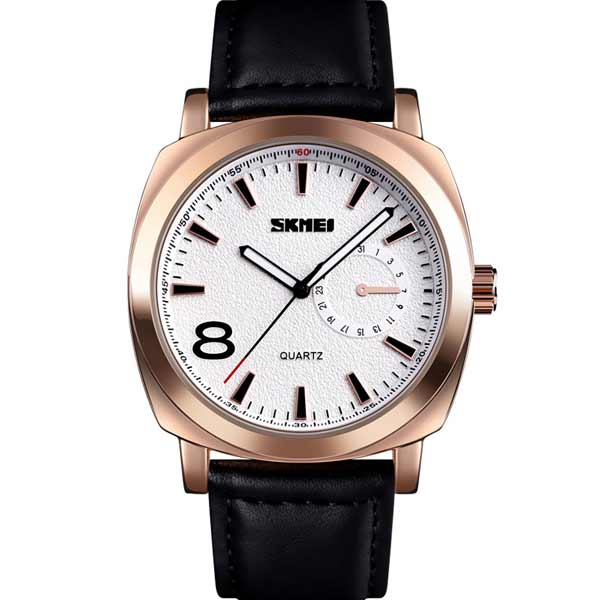 SKMEI 1466 Mens Leather Watch
