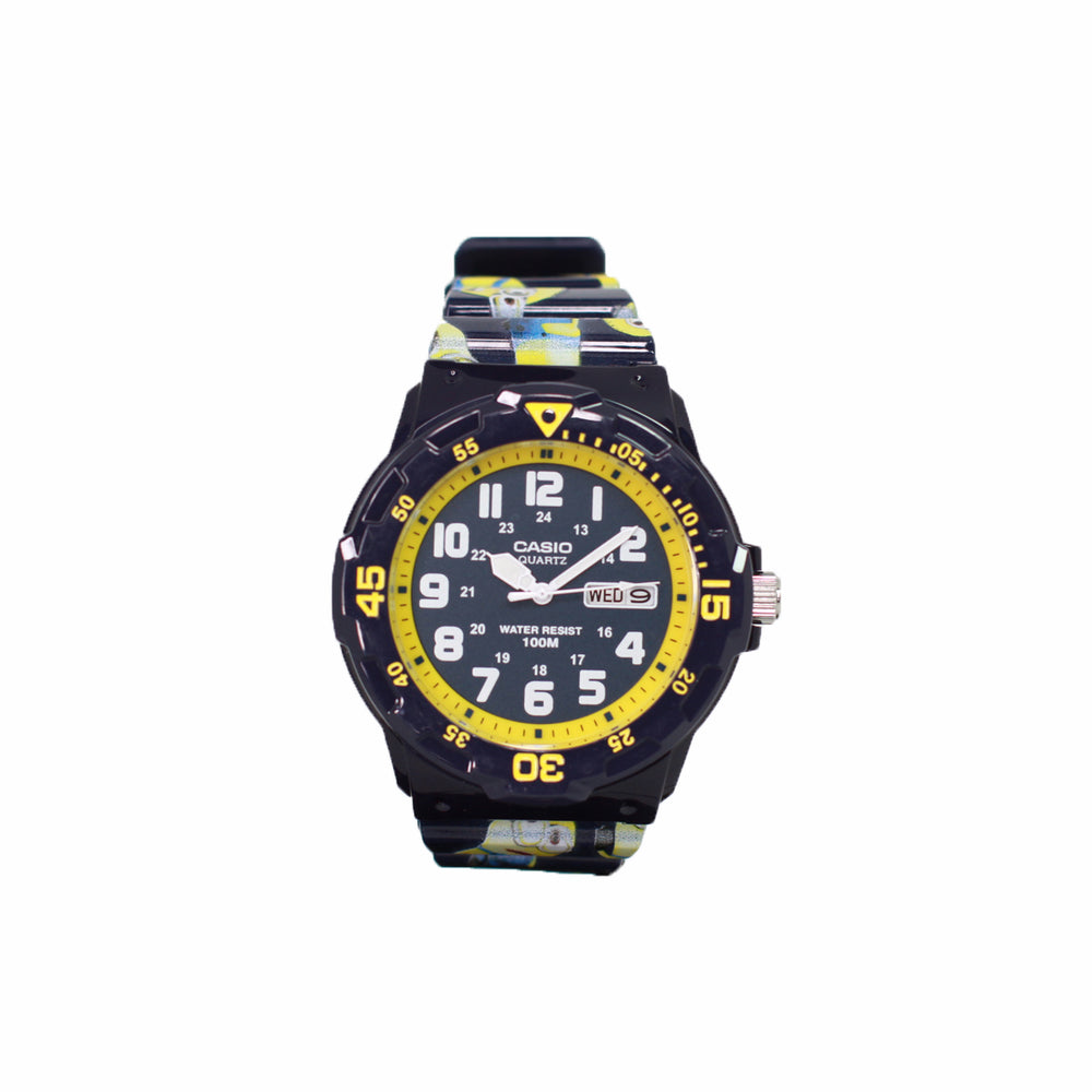 Casio MRW-200HC-2BVDF Kids Customized Design Minion