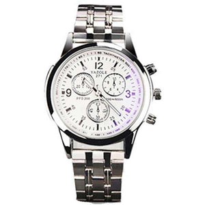 Yazole 271 Mens Stainless Steel Watch