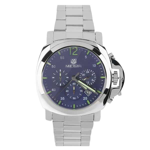 Megir 3006 Mens Stainless Steel Watch