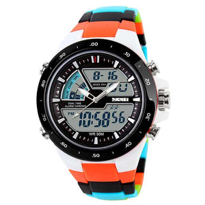 SKMEI 1016 Unisex Dual Display Sports Watch