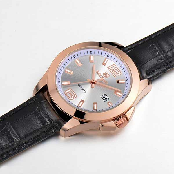 Megir 5006 Mens Leather Watch
