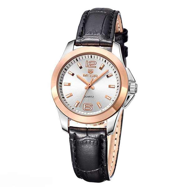 Megir 5006 Womens Leather Watch