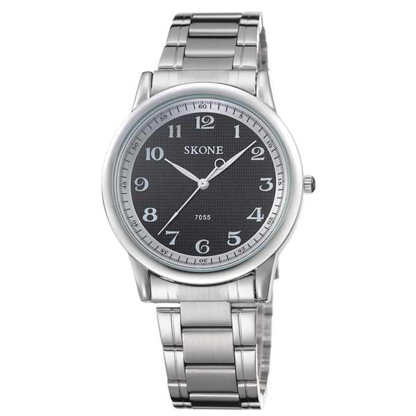 Skone 7055 Mens Stainless Steel Watch
