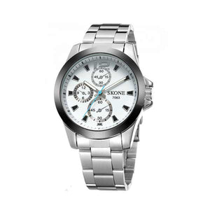 Skone 7063 Mens Stainless Steel Watch