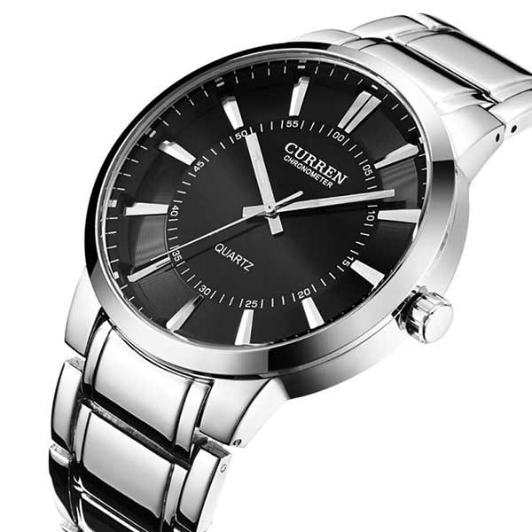 Curren 8001B Mens Stainless Steel Watch