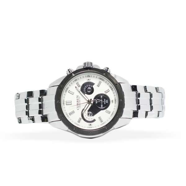 Curren 8009 Mens Stainless Steel Watch