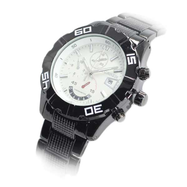 Curren 8015 Dated Mens Stainless Steel Watch