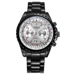 Curren 8053 Dated Mens Stainless Steel Watch