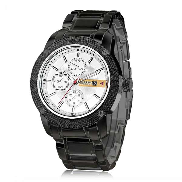 Curren 8069 Dated Mens Stainless Steel Watch