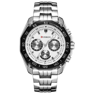 Curren 8077 Mens Stainless Steel Watch