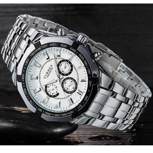 Curren 8084 Mens Stainless Steel Watch