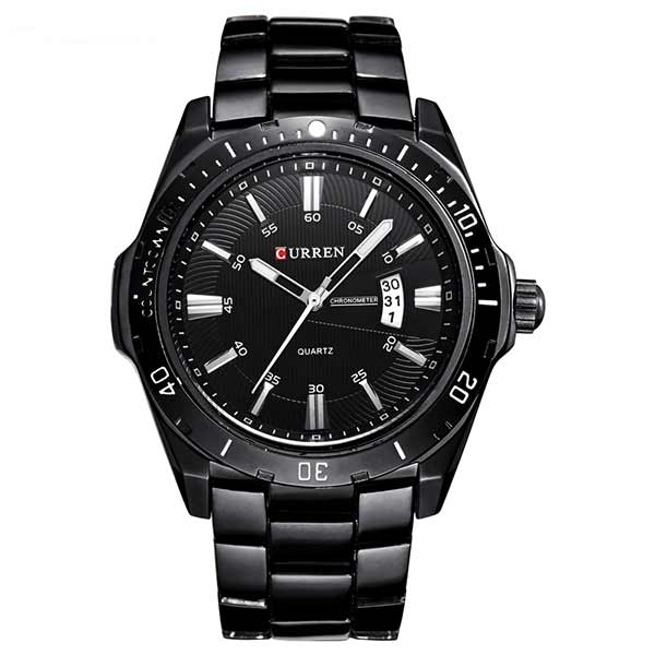Curren 8110 Dated Mens Stainless Steel Watch