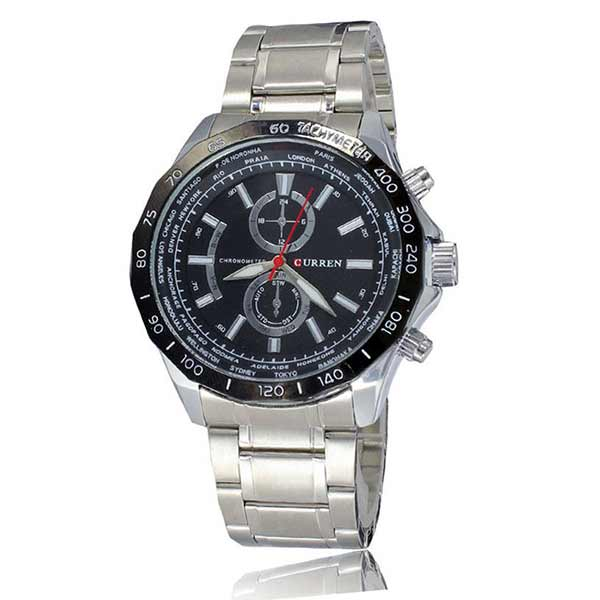 Curren 8186 Mens Stainless Steel Watch