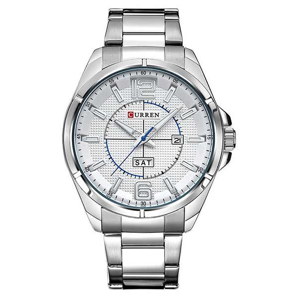 Curren 8271 Dated Mens Stainless Steel Watch