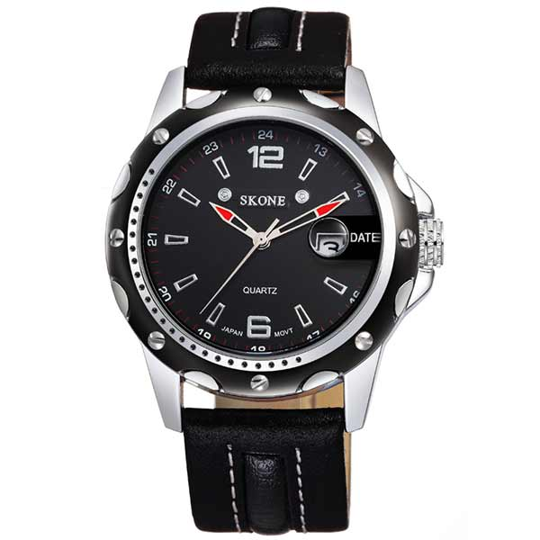 Skone 9117 Mens Leather Watch