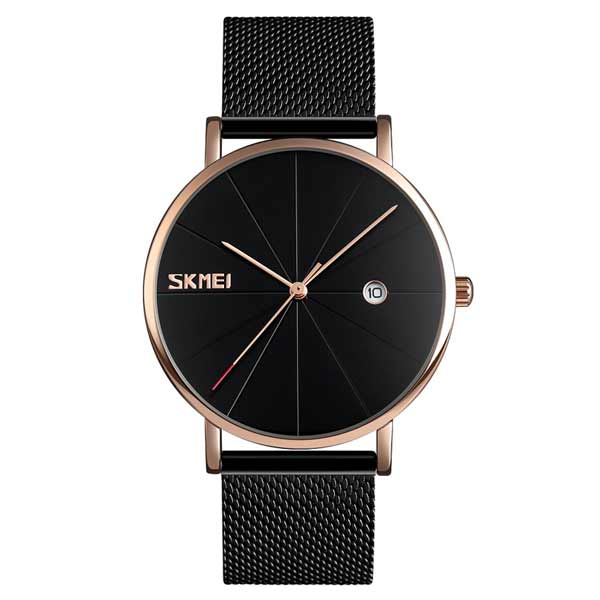 SKMEI 9183 Mens Stainless Steel Watch