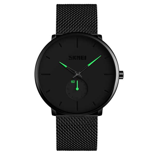 SKMEI 9185 Mens Stainless Steel Watch