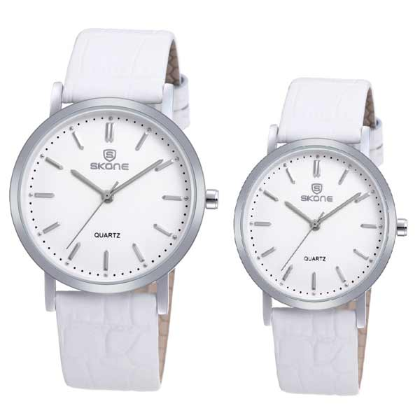 Skone 9310 Couple Leather Watch