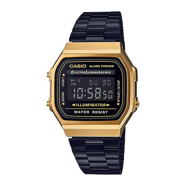 Casio A168WEGB-1BDF Digital Unisex Black