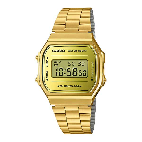 Casio A168WEGM-9DF Digital Unisex Gold