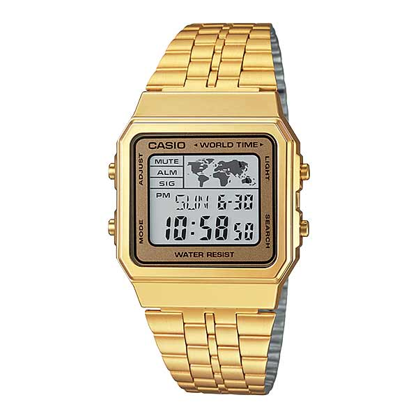 Casio A500WGA-9DF Digital Unisex Gold