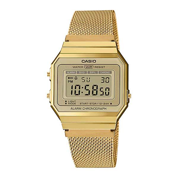 Casio A700WMG-9ADF Digital Unisex Gold