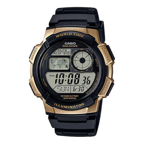 Casio AE-1000W-1A3VDF Digital Mens Resin
