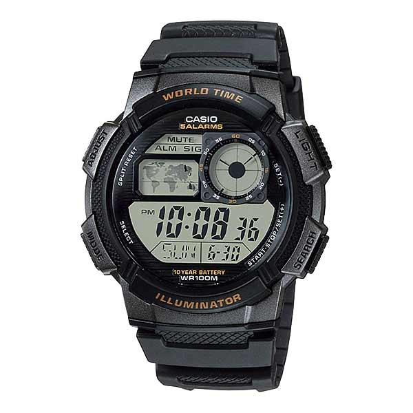 Casio AE-1000W-1AVDF Digital Mens Resin