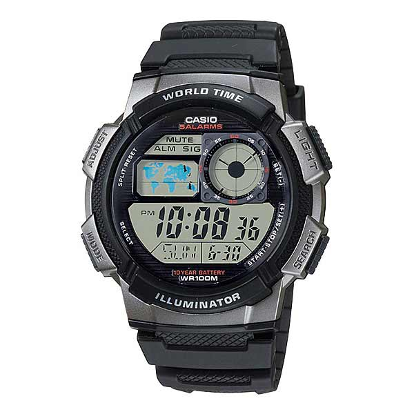 Casio AE-1000W-1BVDF Digital Mens Resin