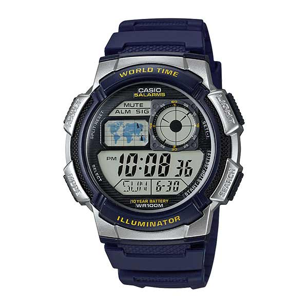 Casio AE-1000W-2AVDF Digital Mens Resin