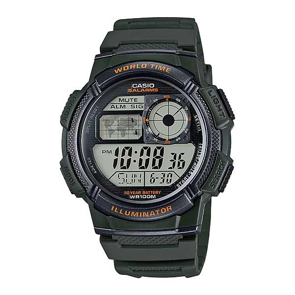 Casio AE-1000W-3AVDF Digital Mens Resin