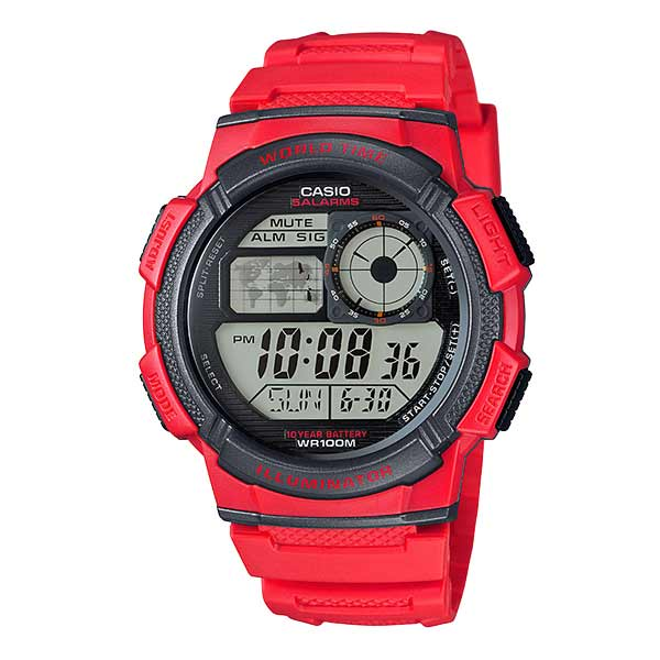 Casio AE-1000W-4AVDF Digital Mens Resin
