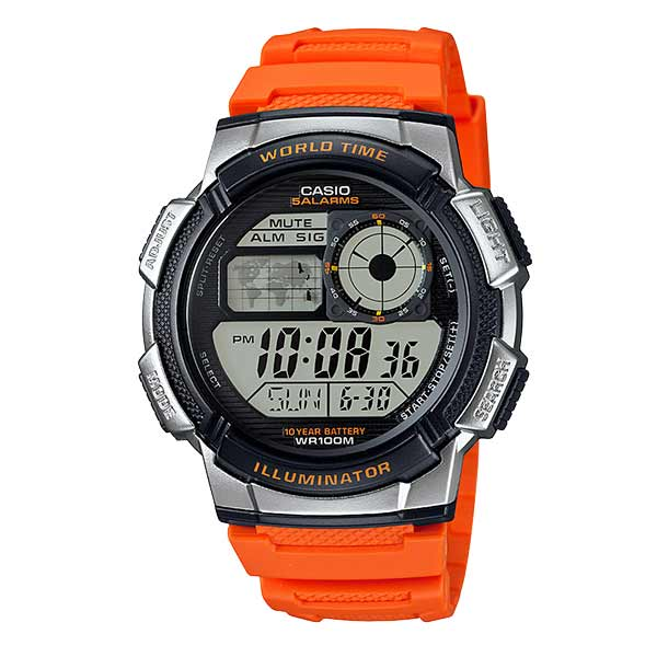 Casio AE-1000W-4BVDF Digital Mens Resin