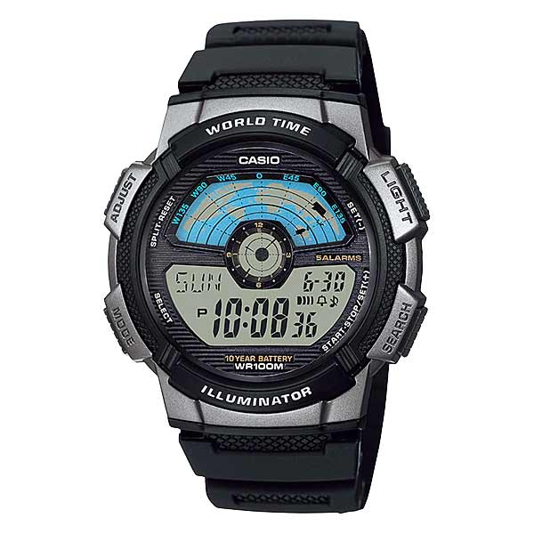Casio AE-1100W-1AVDF Digital Mens Resin