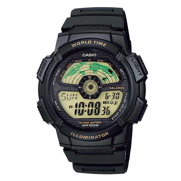Casio AE-1100W-1BVDF Digital Mens Resin