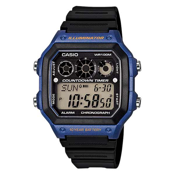 Casio AE-1300WH-2AVDF Digital Mens Resin