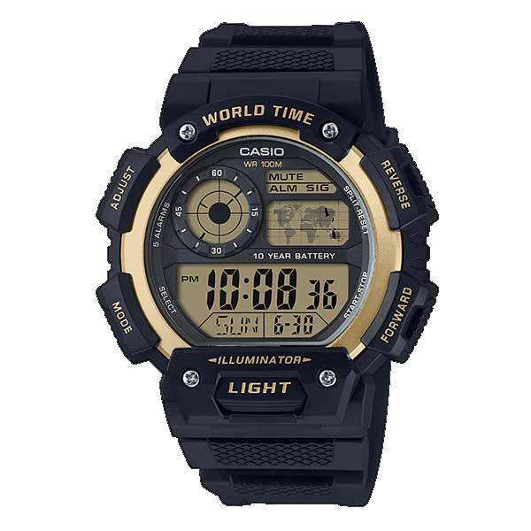 Casio AE-1400WH-9AVDF Digital Mens Resin