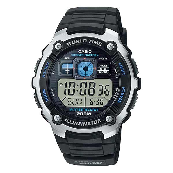 Casio AE-2000W-1AVDF Digital Mens Resin