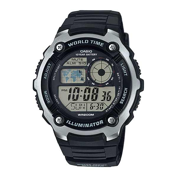 Casio AE-2100W-1AVDF Digital Mens Resin