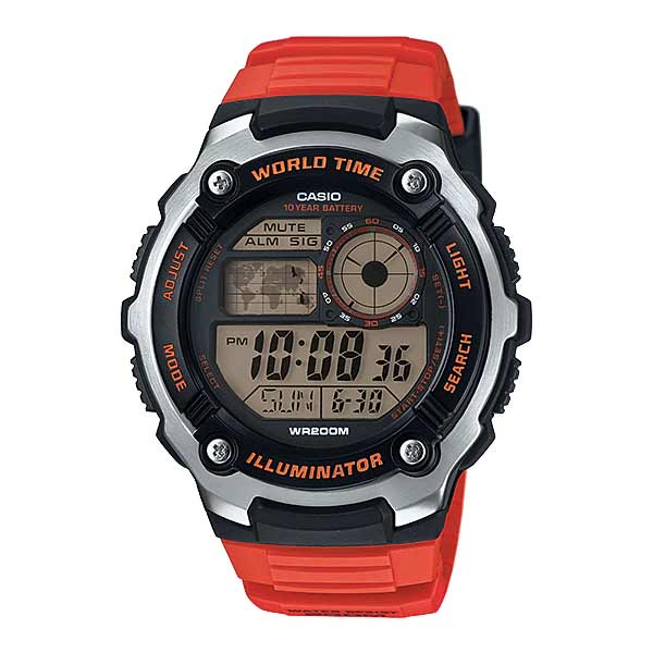 Casio AE-2100W-4AVDF Digital Mens Resin