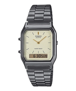 Casio AQ-230GG-9ADF Dual Display Unisex Grey Ion