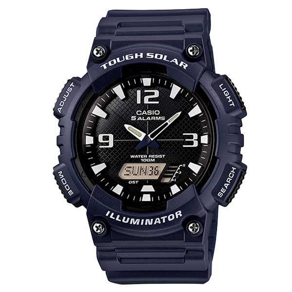 Casio AQ-S810W-2A2VDF Solar Mens Resin